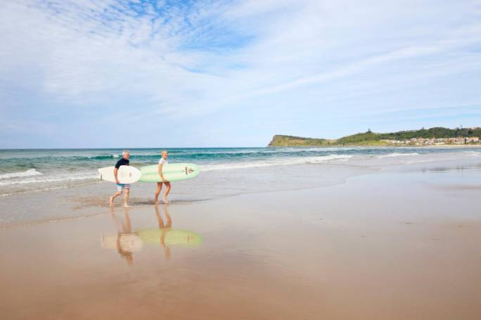 The secluded beaches of Geraldton mean that almost anywhere is a good place to wind down and enjoy nature