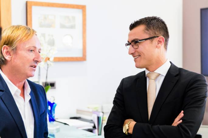 Patrick J. O'Brien with Hon Silvio Schembri