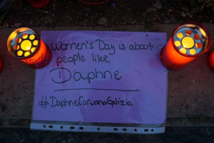 A message for Daphne Caruana Galizia