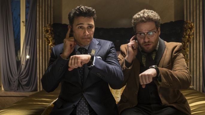 Call me: James Franco and Seth Rogen get satirical in their much-ado-about-nothing comedy romp