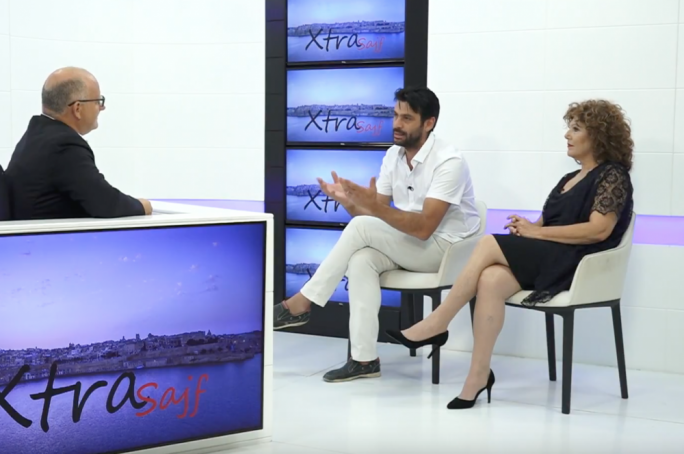 Marc Cabourdain and Miriam Gauci interviewed by Saviour Balzan