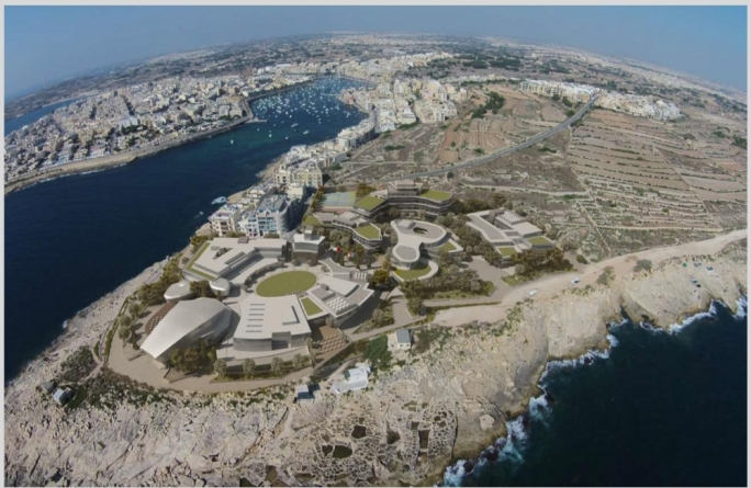 Sadeen, the Jordanian construction group granted land at Zonqor Point (pictured is the artistic impression of the development) had been told to desist form using 'university' it its promotional material until it is licensed to do so